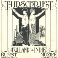 Magazine cover Holland-Indië