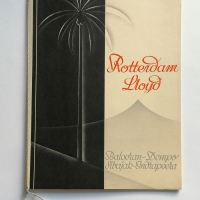 Rotterdam Lloyd shipping brochure